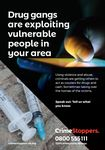 NYP19-0048 - Leaflet:  County lines - drug gangs